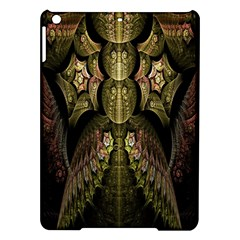 Fractal Abstract Patterns Gold iPad Air Hardshell Cases