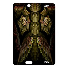 Fractal Abstract Patterns Gold Amazon Kindle Fire HD (2013) Hardshell Case