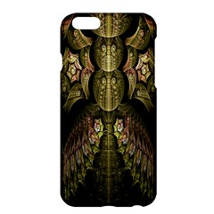 Fractal Abstract Patterns Gold Apple iPhone 6 Plus/6S Plus Hardshell Case