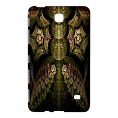 Fractal Abstract Patterns Gold Samsung Galaxy Tab 4 (8 ) Hardshell Case