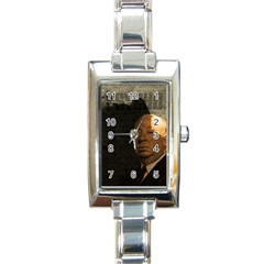 Alfred Hitchcock - Psycho  Rectangle Italian Charm Watch