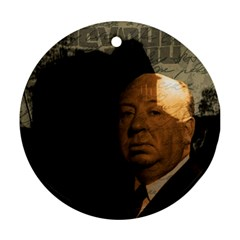 Alfred Hitchcock - Psycho  Ornament (Round)