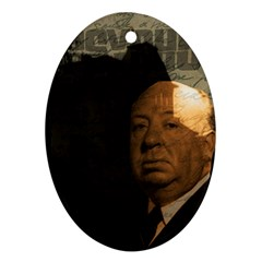 Alfred Hitchcock - Psycho  Ornament (Oval)