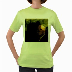Alfred Hitchcock - Psycho  Women s Green T-Shirt