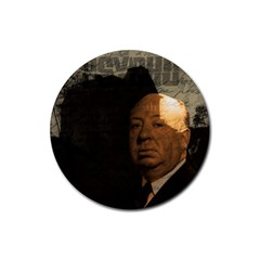 Alfred Hitchcock - Psycho  Rubber Round Coaster (4 pack)