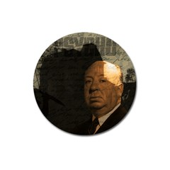 Alfred Hitchcock - Psycho  Magnet 3  (Round)