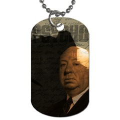 Alfred Hitchcock - Psycho  Dog Tag (One Side)