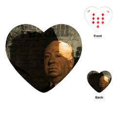 Alfred Hitchcock - Psycho  Playing Cards (Heart)