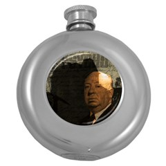 Alfred Hitchcock - Psycho  Round Hip Flask (5 oz)