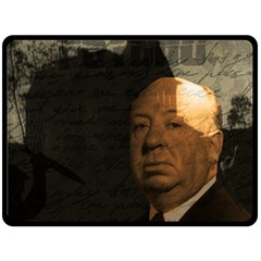 Alfred Hitchcock - Psycho  Fleece Blanket (Large)