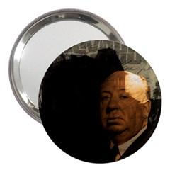 Alfred Hitchcock - Psycho  3  Handbag Mirrors