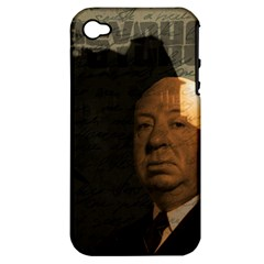 Alfred Hitchcock - Psycho  Apple iPhone 4/4S Hardshell Case (PC+Silicone)