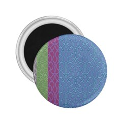Fine Line Pattern Background Vector 2.25  Magnets