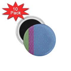 Fine Line Pattern Background Vector 1.75  Magnets (10 pack)