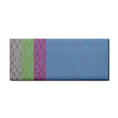 Fine Line Pattern Background Vector Cosmetic Storage Cases