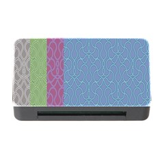 Fine Line Pattern Background Vector Memory Card Reader With Cf