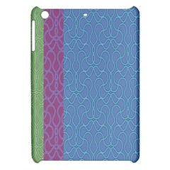 Fine Line Pattern Background Vector Apple iPad Mini Hardshell Case
