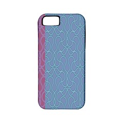 Fine Line Pattern Background Vector Apple iPhone 5 Classic Hardshell Case (PC+Silicone)