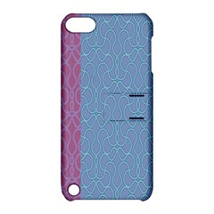 Fine Line Pattern Background Vector Apple iPod Touch 5 Hardshell Case with Stand
