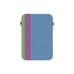 Fine Line Pattern Background Vector Apple iPad Mini Protective Soft Cases