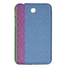 Fine Line Pattern Background Vector Samsung Galaxy Tab 3 (7 ) P3200 Hardshell Case