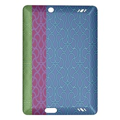 Fine Line Pattern Background Vector Amazon Kindle Fire HD (2013) Hardshell Case
