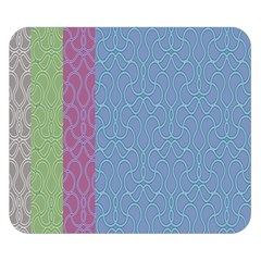 Fine Line Pattern Background Vector Double Sided Flano Blanket (Small)