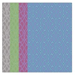 Fine Line Pattern Background Vector Large Satin Scarf (square)