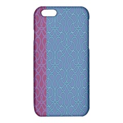 Fine Line Pattern Background Vector iPhone 6/6S TPU Case