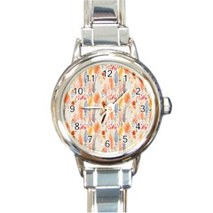 Repeating Pattern How To Round Italian Charm Watch