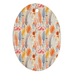 Repeating Pattern How To Ornament (oval)