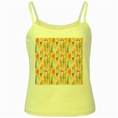 Repeating Pattern How To Yellow Spaghetti Tank