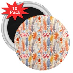 Repeating Pattern How To 3  Magnets (10 Pack)