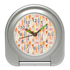Repeating Pattern How To Travel Alarm Clocks