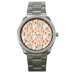 Repeating Pattern How To Sport Metal Watch