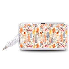Repeating Pattern How To Portable Speaker (White)