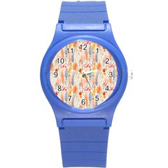 Repeating Pattern How To Round Plastic Sport Watch (S)