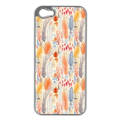 Repeating Pattern How To Apple iPhone 5 Case (Silver)