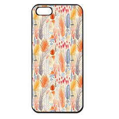 Repeating Pattern How To Apple iPhone 5 Seamless Case (Black)