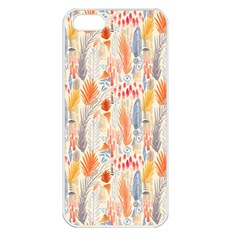 Repeating Pattern How To Apple Iphone 5 Seamless Case (white)