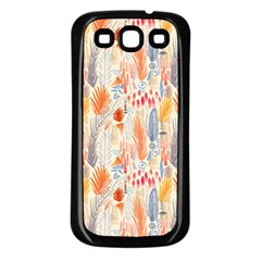 Repeating Pattern How To Samsung Galaxy S3 Back Case (Black)