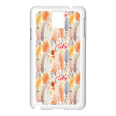 Repeating Pattern How To Samsung Galaxy Note 3 N9005 Case (White)