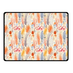 Repeating Pattern How To Double Sided Fleece Blanket (Small)