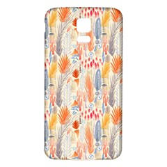 Repeating Pattern How To Samsung Galaxy S5 Back Case (White)