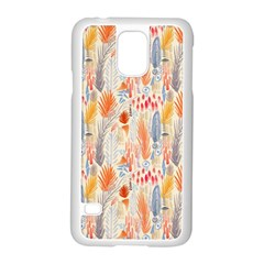 Repeating Pattern How To Samsung Galaxy S5 Case (White)