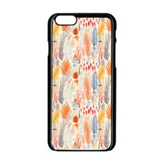 Repeating Pattern How To Apple iPhone 6/6S Black Enamel Case
