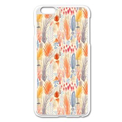 Repeating Pattern How To Apple Iphone 6 Plus/6s Plus Enamel White Case