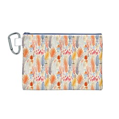 Repeating Pattern How To Canvas Cosmetic Bag (m)