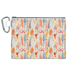 Repeating Pattern How To Canvas Cosmetic Bag (XL)