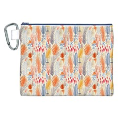 Repeating Pattern How To Canvas Cosmetic Bag (XXL)